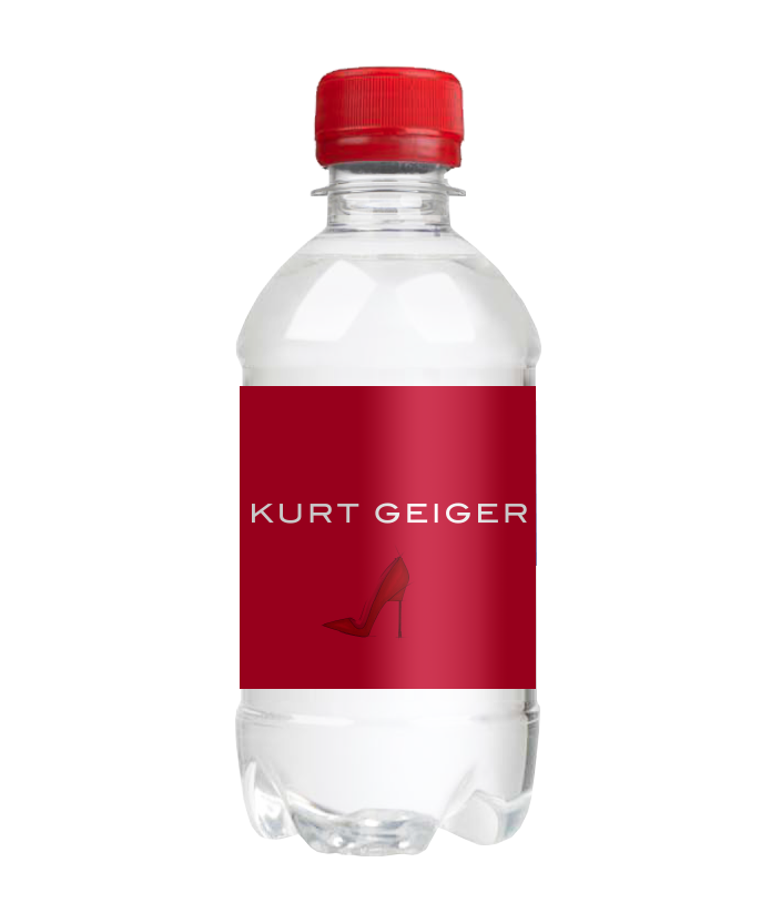 330ml Kurt Geiger Red