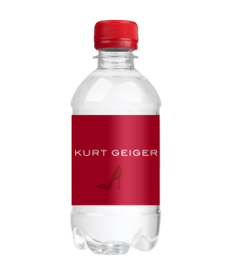 330ml Still Sparkling Glass Bottled Promotional Branded Mineral Water Screw Cap