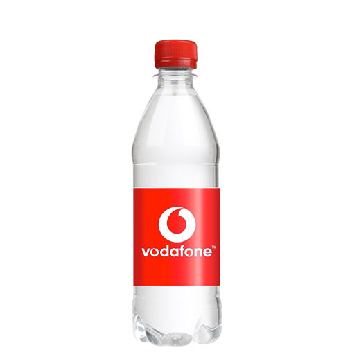 500ml Still Sparkling Glass Bottled Promotional Branded Mineral Water Screw Cap